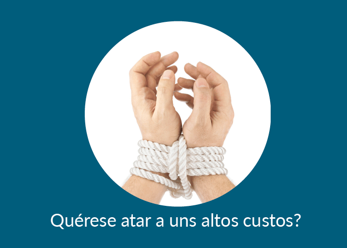 Quérese atar a uns altos custos
